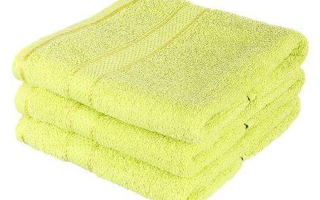 Froté ručník se vzorem Menheten hrášková