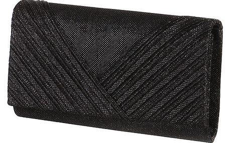 Luxusní třpytivé psaníčko černá