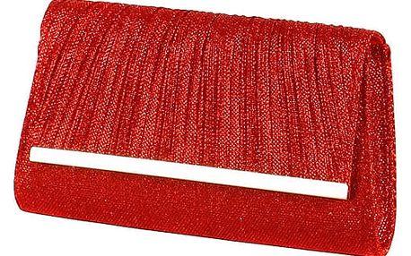 Plesové dámské psaníčko červená