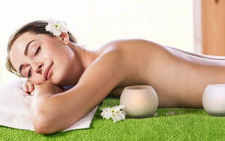 30minutová relaxační masáž zad a šíje