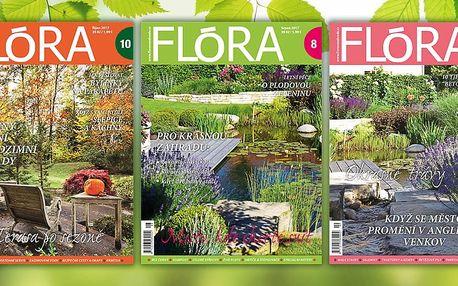 Roční předplatné časopisu Flóra na zahradě na rok 2018