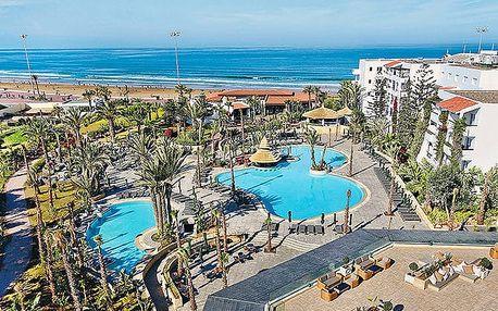 Hotel Riu Tikida Beach, Agadir, Maroko, letecky, all inclusive