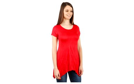 Dámské asymetrické tričko béžová