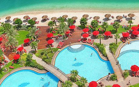 Hotel Khalidiya Palace Rayhaan By Rotana, Dubaj, Spojené arabské emiráty, letecky, snídaně v ceně