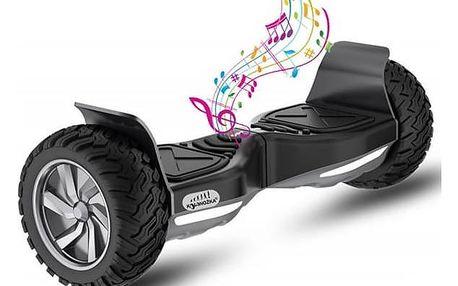 Kolonožka Rover Offroad - černá + Reflexní sada 2 SportTeam (pásek, přívěsek, samolepky) - zelené v hodnotě 58 Kč + Doprava zdarma