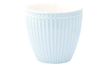 GREEN GATE Latte cup Alice pale blue, modrá barva, porcelán 300 ml