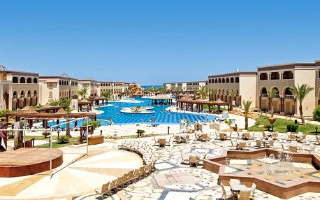 Hotel Sentido Mamlouk Palace Resort & Spa, Hurghada, Egypt, letecky, ultra all inclusive