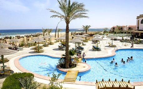 Hotel Shams Alam Beach Resort, Marsa Alam, Egypt, letecky, all inclusive