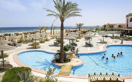 Hotel Shams Alam Beach Resort, Marsa Alam, Egypt, letecky, all inclusive