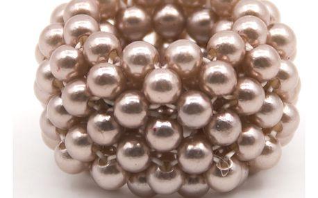 Gumička s perličkami - pro tvorbu copů a culíků