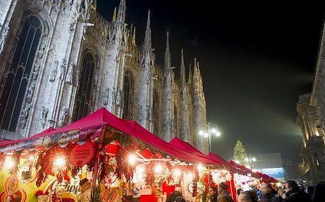 Adventní výlet do Milána z Prahy, Plzně 8.-10. 12. 2017