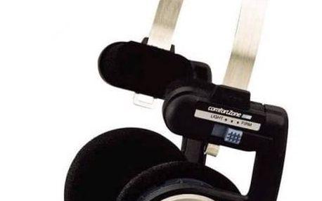 Sluchátka Koss PORTA PRO I (doživotní záruka) černá/stříbrná + Doprava zdarma