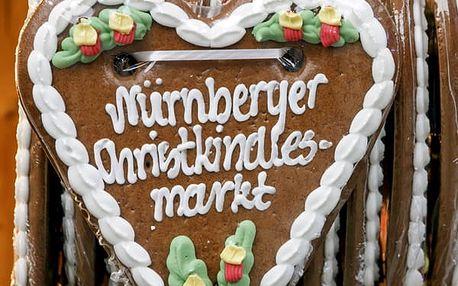 1denní zájezd do Norimberku s průvodcem pro jednoho, tradiční vánoční trhy, pražené kaštany, svařák.