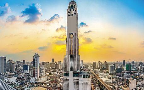 Hotel Baiyoke Sky, Bangkok, Thajsko, letecky, snídaně v ceně