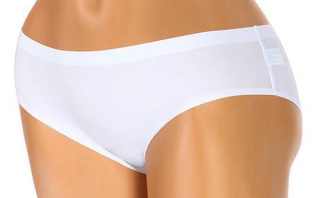 Bezešvé kalhotky klasického střihu bílá