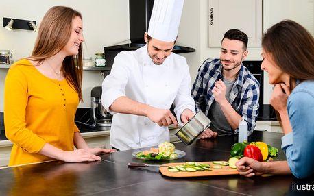 Mistrem kuchyně: kurz vaření gurmánského menu