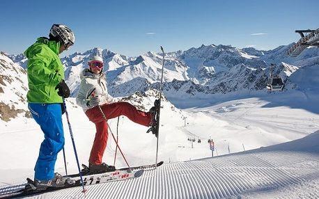 Rakouské Alpy v 3* hotelu s wellness