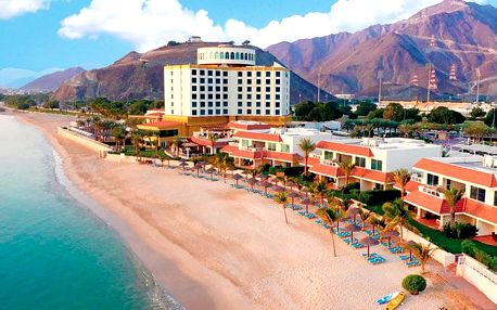 Hotel Oceanic Khorfakkan Resort & Spa, Dubaj, Spojené arabské emiráty, letecky, polopenze