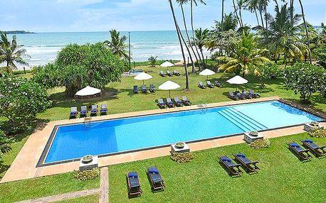 Hotel Mandara Resort, Srí Lanka, letecky, polopenze