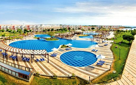 Hotel Sunrise Crystal Bay Resort, Hurghada, Egypt, letecky, ultra all inclusive