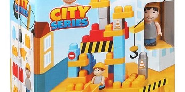 Stavebnice City 34 dílků