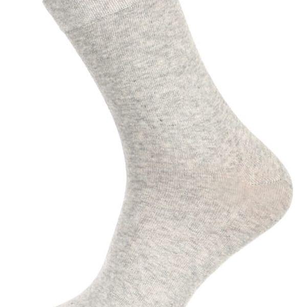 Pánské jednobarevné ponožky tmavě modrá2