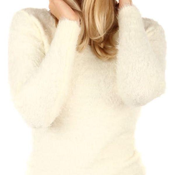 Jednoduchá pletená čepice tmavě modrá
