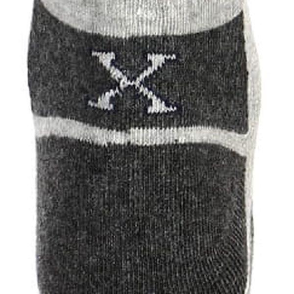 Dámské sportovní ponožky černá4