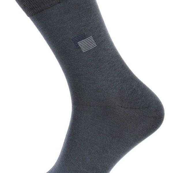 Pánské ponožky bavlněné černá