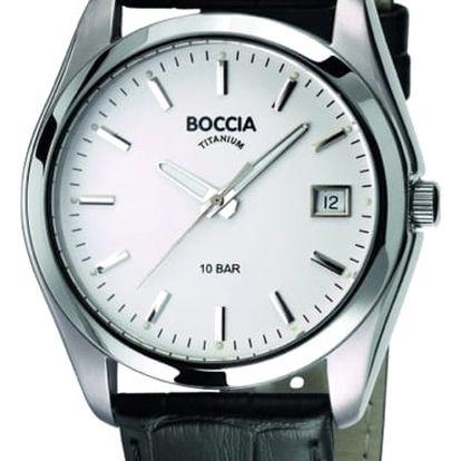 Boccia Titanium 3548-01 + pojištění hodinek, doprava ZDARMA, záruka 3 roky