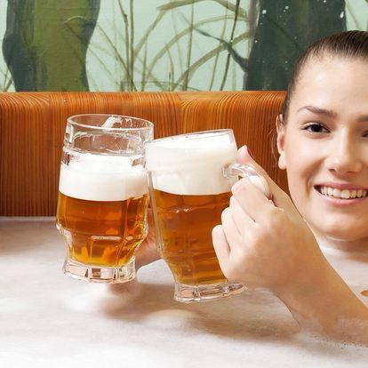 Pobyt pod Orlickými horami včetně pivní lázně