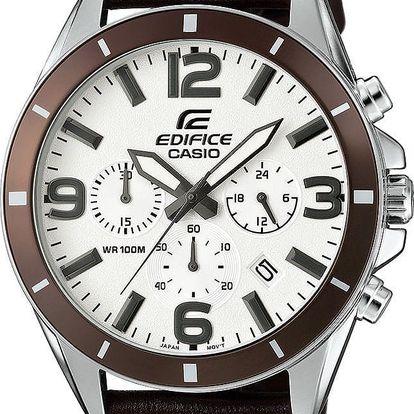 Casio EFR 553L-7B + pojištění hodinek, doprava ZDARMA, záruka 3 roky