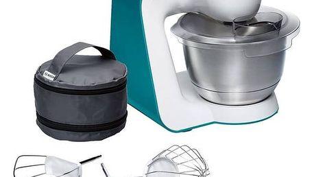 Kuchyňský robot Bosch StartLine MUM54D00 bílý/tyrkysový + Doprava zdarma