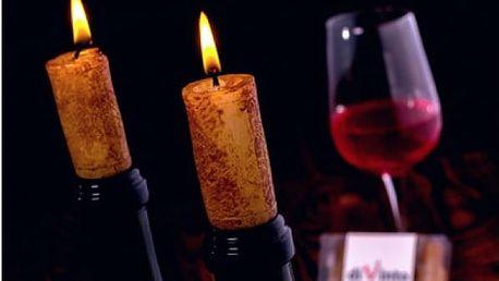Sada svíček na víno 4 ks