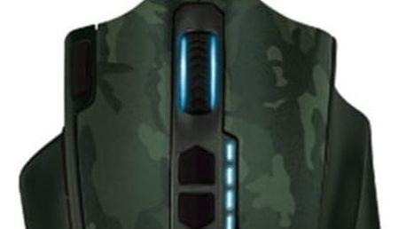 Trust GXT 155C, zelená - 20853 + Podložka pod myš Trust Gaming CZC.cz, herní, černá v ceně 100 Kč