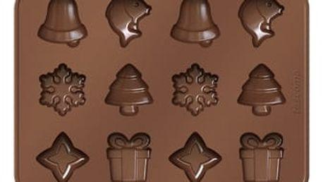 TESCOMA formičky na čokoládu DELÍCIA CHOCO, vánoční motivy