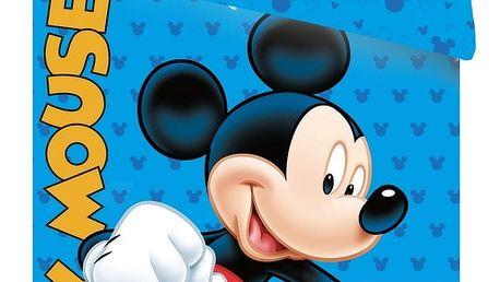 Jerry Fabrics dětské bavlněné povlečení Mickey blue 2016 140x200 70x90