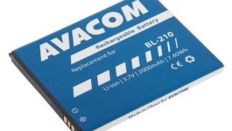 Baterie Avacom pro Lenovo A536, Li-Ion 3,7V 2000mAh (náhrada BL210) (GSLE-BL210-2000)