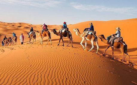 Okruh Saharou, Agadir, Maroko, letecky, polopenze