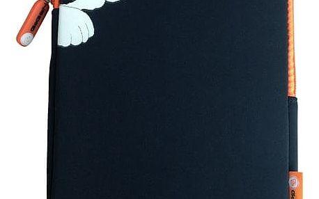 """Pouzdro na tablet GoGEN neoprenové pro 8"""" - dětské (GOGTA8CASECH) černé/oranžové"""