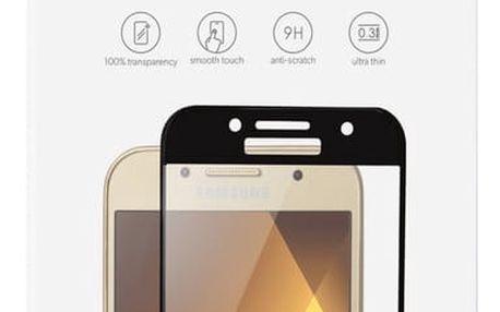 EPICO GLASS 2,5D tvrzené sklo pro Samsung A3 (2017) - černé - 18112151300002
