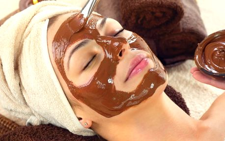 Čokoládové pohlazení-kosmetické ošetření a masáž