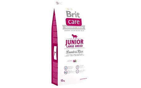 Granule Brit Care Junior Large Breed Lamb & Rice 12 kg + Doprava zdarma