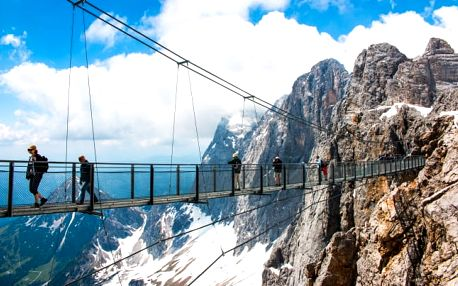 Rakouské Alpy s wellness a lázněmi