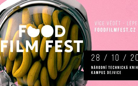 Food Film Fest: filmy, diskuse a degustace