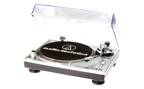 Audio-Technica AT-LP120USBHC, stříbrná