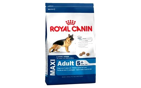 Granule Royal Canin Maxi Adult +5 15 kg + Doprava zdarma