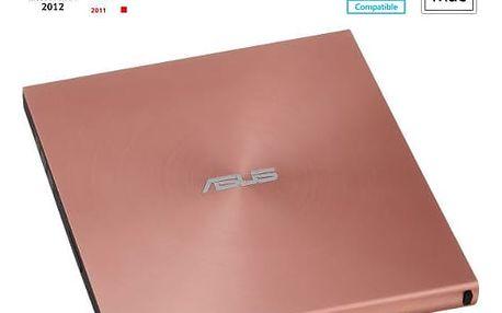 ASUS SDRW-08U5S-U, růžová - 90DD0114-M20000