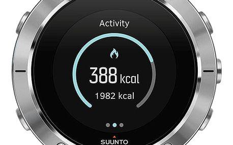 Suunto Spartan Trainer Wrist HR Steel SS023425000 + pojištění hodinek, doprava ZDARMA, záruka 3 roky