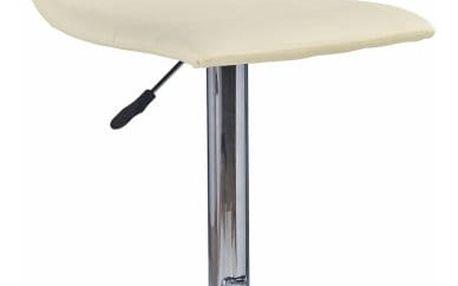 Barová židle H-21 Halmar krémová